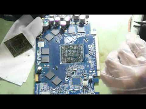 DIY BGA reworking 6800GT -