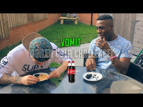What Happens When You Boil Coca Cola (BOILED COKE CHALLENGE + VOMIT)