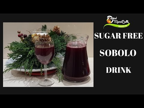 VLOGMAS DAY 4: HOW TO PREPARE YOUR CHRISTMAS SOBOLO / HIBISCUS DRINK - SUGAR FREE RECIPE:- EP1