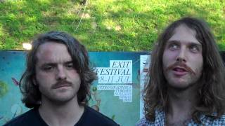 Midnight Juggernauts - Midnight Juggernauts Exit Festival 2010 Interview