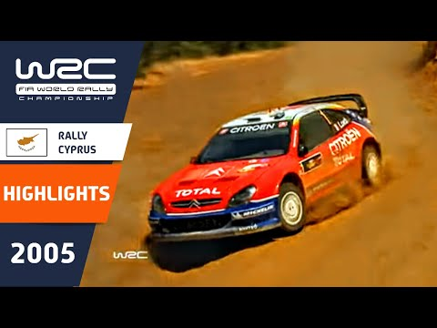 WRC Highlights: Cyprus 2005: 52 Minutes