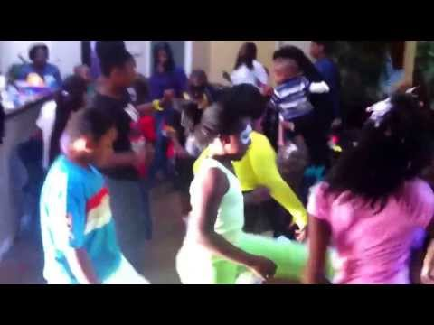Cupid Shuffle-kids Birthday Party! video