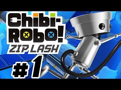 CHIBI-ROBO! ZIP LASH # 01 ★ Kleiner Roboter ganz groß! [HD   60fps] Let's Play Chibi-Robo! Zip Lash