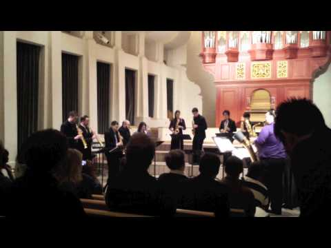 La Boda de Luis Alonso by Gerónimo Giménez (Kenneth Tse and UIowa Saxophone Ensemble)