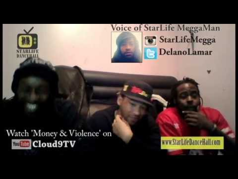 StarLife DH Interview with 'Money  & Violence's' Jamaican Characters- G, Fresh & BR