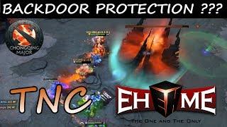 Shadow Fiend Luna Pierce Through Backdoor Protection | TNC vs EHOME The ChongQing Major