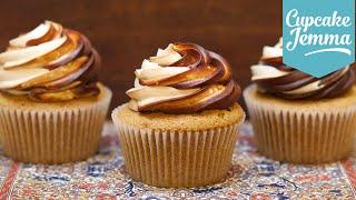 How to Make White Russian Big Lebowski Inspired Cupcakes | Cupcake Jemma