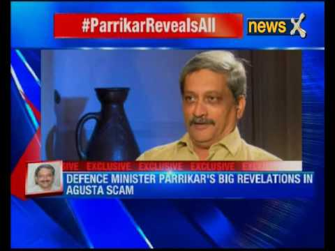 Manohar Parrikar reveals all to NewsX