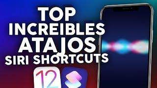 """Increíbles """"SIRI SHORTCUTS"""" Atajos iOS 12 Capítulo #1"""