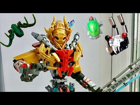 [оЛС]критика 7 Lego Bionicle самоделок(#20)Крутые самоделки Лего Бионикл