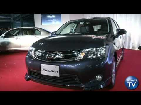 Toyota Launches New Models In Recovering Northern Japan