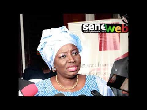 Réaction de Mimi Touré après la sortie du Président Wade