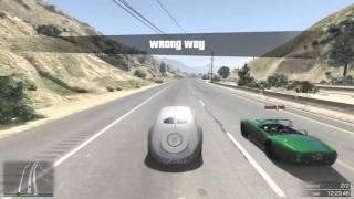 GTA 5 Top Speed Drag Race (Declasse Mamba (SLAMMED) vs. Z-Type)