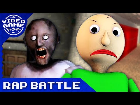 Baldi's Basics vs. Granny - Video Game Rap Battle