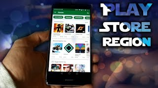 Easiest way to change Google Play Store Region without ROOT