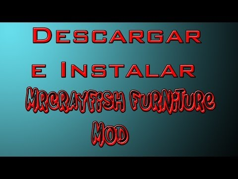 Minecraft 1.7.2 - Descargar E Instalar Mrcrayfish Furniture Mod