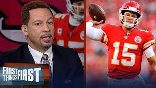 Chris Broussard predicts Patrick Mahomes will repeat as MVP | NFL | FIRST THINGS FIRST