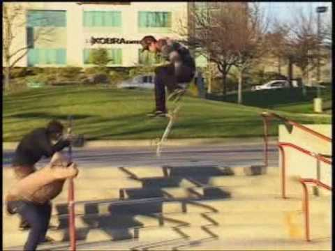 Historical skateboarding tricks 2 Video