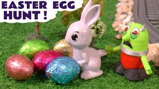 Funny Funlings Learn Numbers with Hide and Seek Easter Egg Hunt and Thomas the Train