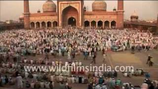 Eid in Jama Masjid, Delhi
