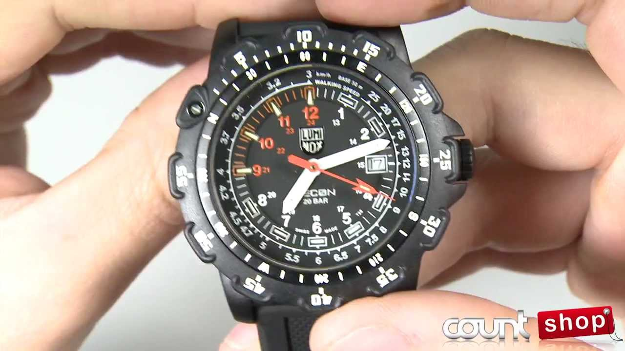 luminox recon point man 8821km review by discountshop
