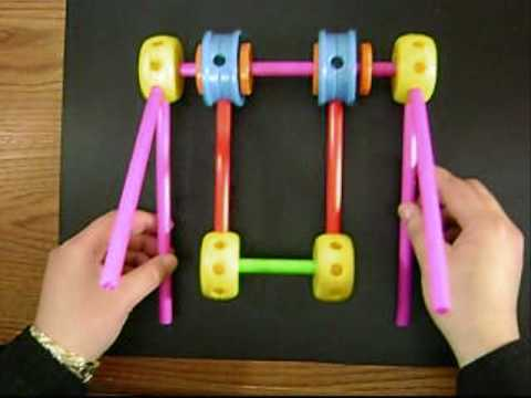 Tinker Toys Crafts: toy swing