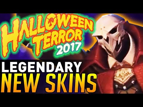 Overwatch | NEW Halloween Legendary Skins ANNOUNCED By Blizzard!