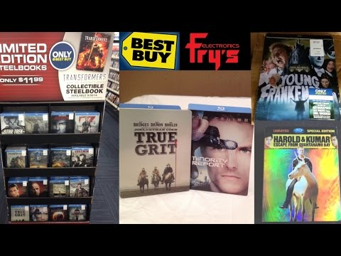 Best Buy SteelBooks + Blu-News - True Grit and Minority Report Unboxings