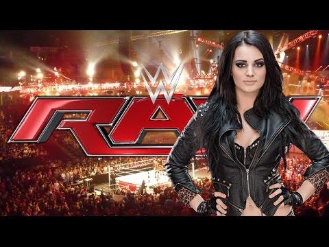WWE RAW 5 Jan 2015 PAIGE NATALYA & NIKKI BELLA