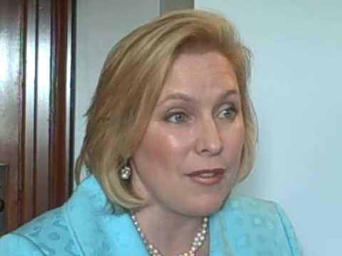 Sen. Kirsten Gillibrand speaks with Politics Daily