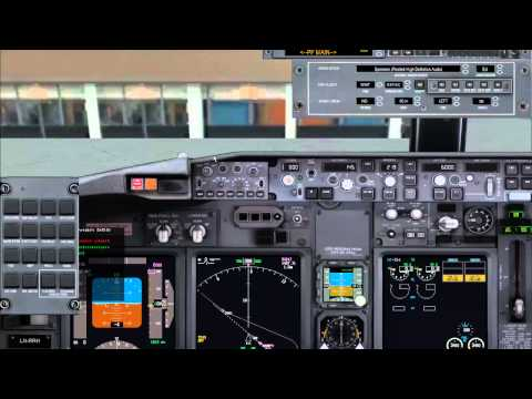 PMDG 737 and Fs2Crew NGX Voice Startup Cold & Dark
