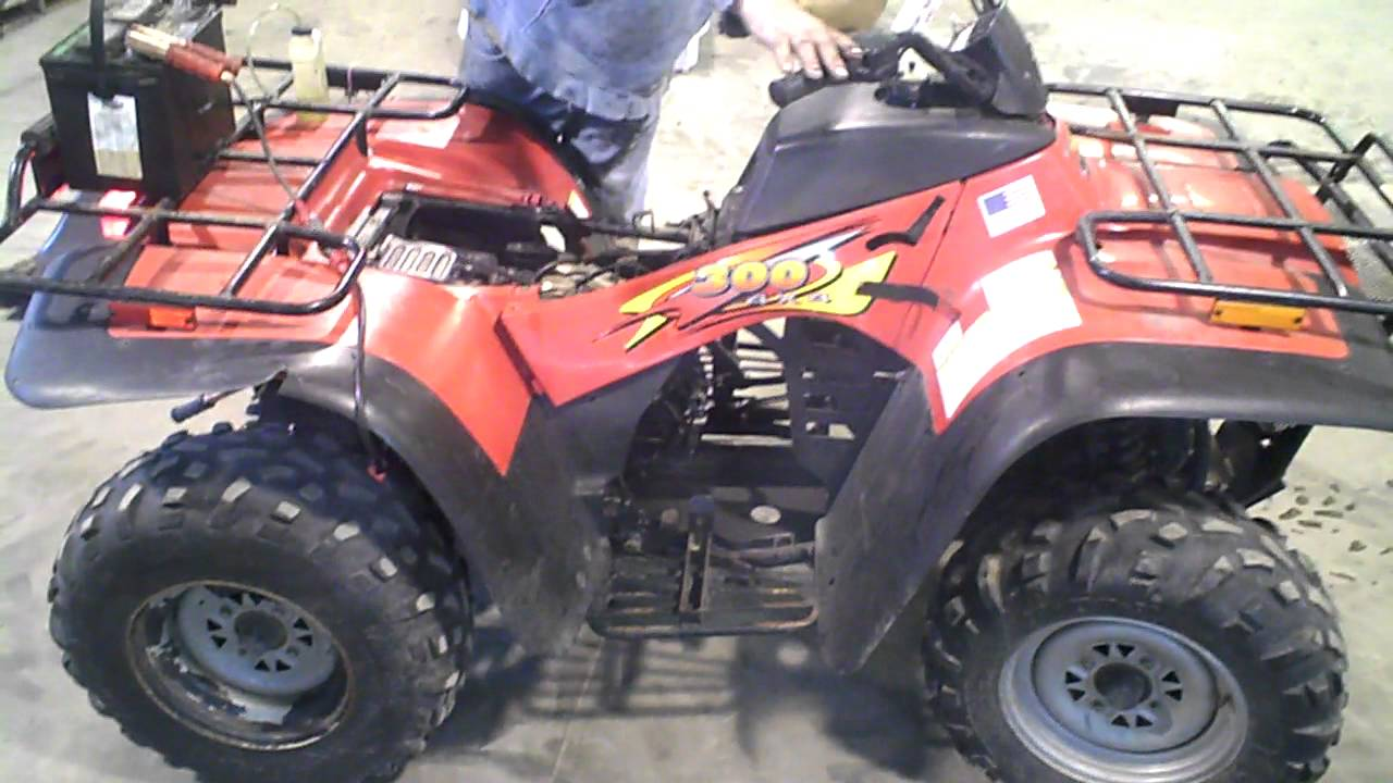 lot 1174a 1998 arctic cat 300 4x4 atv