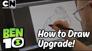 Download Ben 10 | How to Draw: UPGRADE | Cartoon Network 3Gp Mp4