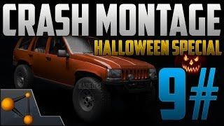 BeamNG DRIVE Ultimate Crash Montage 9# [Super Halloween Special - HD]
