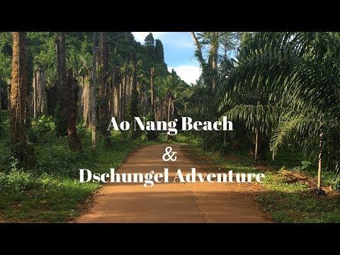 Ao Nang Beach in Krabi - Thailand Vlog #59