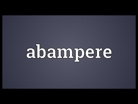 Header of abampere