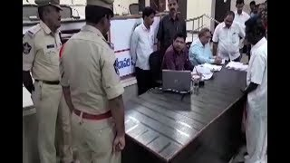 Collector Fires On Police Over disabled Person Pension Issue   West Godavari