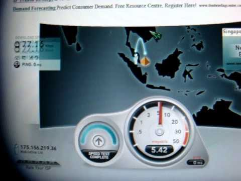 Speed Test (M1 - 100 Mbps)