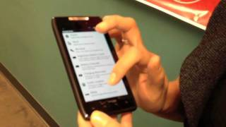 Droid RAZR - Smart Actions Demo on Droid RAZR