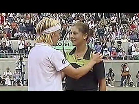 Monica Seles vs Jana Novotna 1998 RG Highlights #1