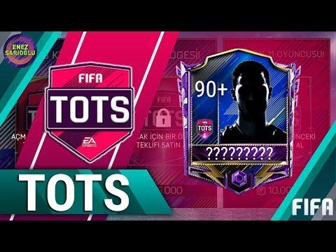 +90 GEN TOTS ÇIKTI! PREMIER LEAGUE TOTS ÖZEL PAKET AÇILIMI! FIFA MOBILE 18