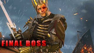 The Witcher 3 Final Boss Gameplay