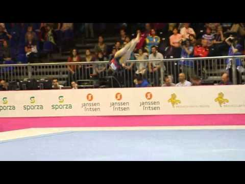 Larisa IORDACHE ROU, Floor Senior Qualification, European Gymnastics Championships 2012