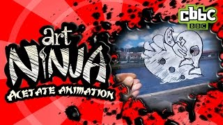CBBC: Art Ninja - Acetate Animation