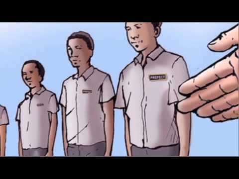 The Life and Times of Nelson Mandela part 1 (Animated Legacy Comic Series)