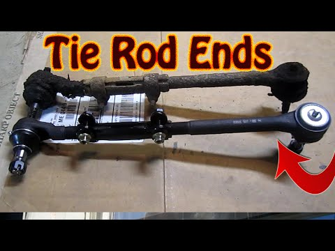 DIY How To Replace Inner And Outer Tie Rod Ends - Front End Replacement Part 2