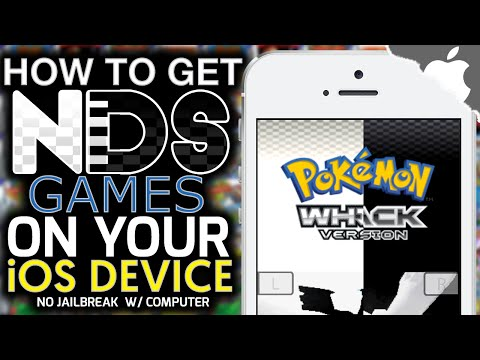iNDS: How To Get NINTENDO DS Games on your iOS Device! 9.2 & ↓ (NO JAILBREAK) (COMPUTER) iPhone iPad