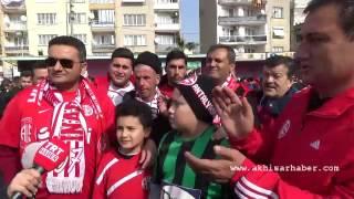 Akhisar Belediyespor ile Antalyaspor taraftarından örnek davranış
