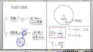 高校物理解説講義:「円運動」講義3