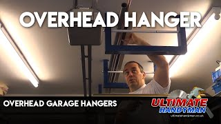 Overhead garage rack